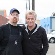 CHEF RAMSAY VISITS BEN'S MEATS!!