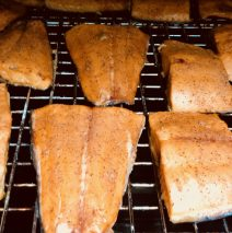 Fresh Smoked Salmon